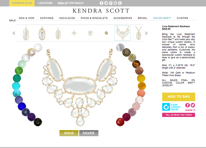 Kendra Scott Color Bar for Ipad